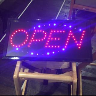 OPEN  点滅 LED看板 極めて美品
