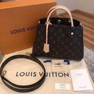 LOUIS VUITTON - 【2019年9月購入品】ルイヴィトン モンテーニュ BB