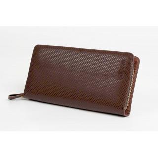 新品 容量大 長財布 ブラウン スマホも入るサイズ 長財布 メンズ レディース(財布)