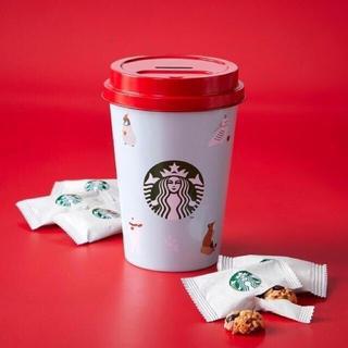 Starbucks Coffee - 海外限定 スターバックス ホリデー  貯金箱 コインバンク togo  缶 クマ