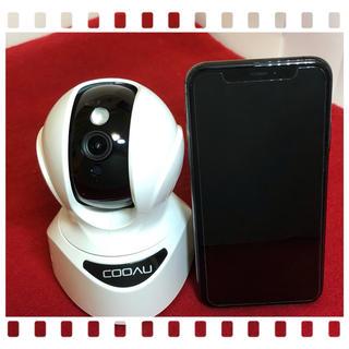 【最新エーアイ技術】COOAUネットワークカメラ1080P 200万画素