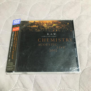 CHEMISTRY DVD ACOUSTIC LIVE 2002 R.A.W.