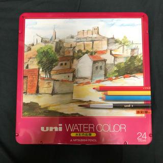 水彩色鉛筆 uni WATER COLOR