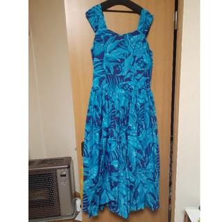フラドレス ブルー系 (ロングドレス)