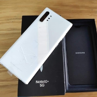 SAMSUNG - Samsung Galaxy Note 10+ 5G 256GB 新品 ホワイト