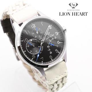 ライオンハート 腕時計 メンズ LION HEART ブランド レザー