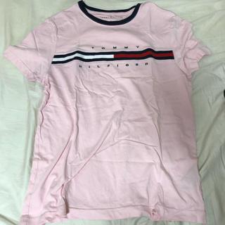 トミーヒルフィガー(TOMMY HILFIGER)のピンク ライン Tシャツ(Tシャツ(半袖/袖なし))