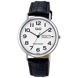 ホワイト シルバー[シチズン キューアンドキュー]CITIZEN Q&Q 腕時計