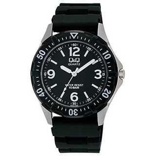 文字盤色-ブラック[シチズン キューアンドキュー]CITIZEN Q&Q 腕時計