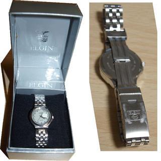 ELGIN 腕時計 5気圧防水 訳アリ(電池切れ)