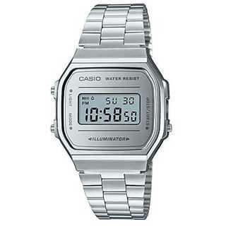 [カシオ] 腕時計 スタンダード A168WEM-7JF シルバー