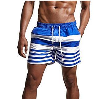 メンズ水着 サーフパンツ ショート丈 かっこいい 海水浴 プール ジム 人気