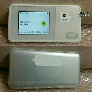 Speed Wi-Fi NEXT W03 WiMAX 値引可【送込1700円~】
