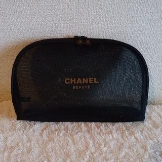 CHANEL - 【新品 未使用】CHANEL シャネル メッシュ ポーチ 非売品 ブラック
