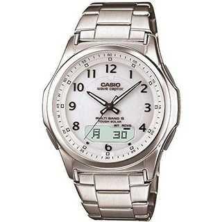 [カシオ]CASIO 腕時計 ウェーブセプター 電波ソーラー