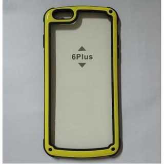 イエロー iphoneX XS iphoneケース シンプル バイカラー