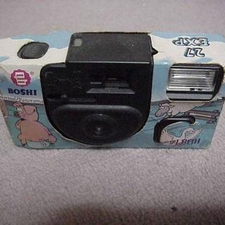 BOSHI パノラマカメラ 期限切れASA400 27 EXP ジャンク