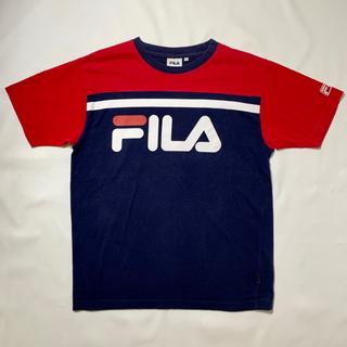FILA - FILA フィラ ビッグシルエットTシャツ ビッグロゴ