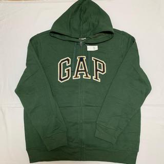 GAP - 新品 定価5990円 ギャップ  裏起毛 ロゴ ジップ パーカー XL メンズ