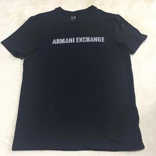 ARMANI EXCHANGE - アルマーニ エクスチェンジ ブラック Tシャツ