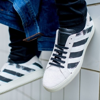 OFF−WHITE   Brushed  Diagonals Sneaker