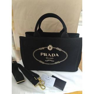PRADA - プラダ カナパ Mサイズ