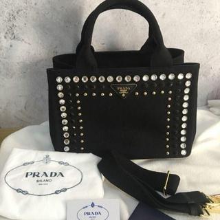 PRADA - Prada カナパ  ビジュー S