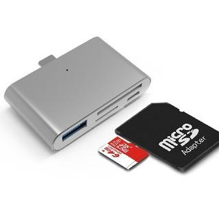 Type-c ハブ SDカードリーダー microSD 充電器 USB C機器