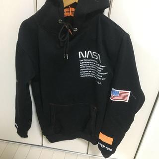 シュプリーム(Supreme)のHeren Preston ✖ NASA パーカー ブラック ラス1(パーカー)