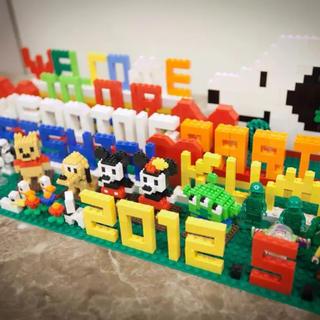 Lego - LEGOで挙式披露宴のウェルカムボードつくります!