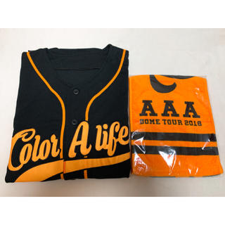 AAA - あゆたそ520様専用 AAA ベースボールシャツ&マフラータオル 橙
