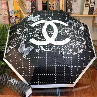 CHANEL - 雨天兼用日傘 UVカット99%