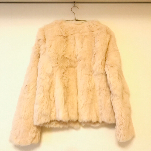 rienda(リエンダ)の💜💜rienda💄リエンダ💋リアルファーコート レディースのジャケット/アウター(毛皮/ファーコート)の商品写真