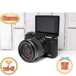 Canon - ★美品★スマホ転送★Canon EOS M3 レンズキット♪★