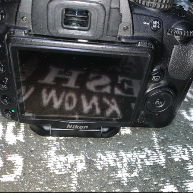 Nikon(ニコン)のD5000 NIKON 一眼レフ スマホ/家電/カメラのカメラ(ミラーレス一眼)の商品写真