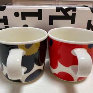 marimekko - 【新品未使用】マリメッコ ♡ ペアマグカップ