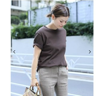 DEUXIEME CLASSE - ドゥーズィエムクラス EVERYDAY Tシャツ ブラウン