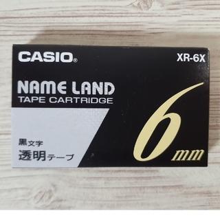 カシオ(CASIO)のCASIO カシオ ネームランド  純正 テープ(テープ/マスキングテープ)