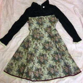 シャーリーテンプル(Shirley Temple)のシャーリーテンプル ドレス ワンピース ゴブラン織 ベロア  フォーマル(ドレス/フォーマル)