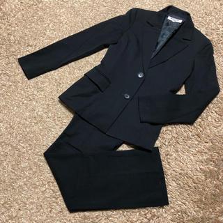 ナチュラルビューティーベーシック(NATURAL BEAUTY BASIC)の値下げ交渉OK ナチュラルビューティベーシック パンツスーツ Sサイズ ブラック(スーツ)