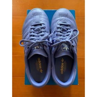 アディダス(adidas)のadidas アディダス オリジナルス サンバローズ スニーカー 青 24センチ(スニーカー)