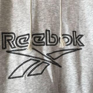 Reebok - Reebok   リーボック  ベクタービッグロゴ刺繍ステッチ  パーカー