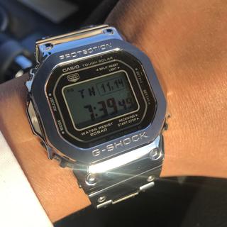 G-SHOCK - 美品 フルメタルG-SHOCK【銀】シルバーGMW-B5000D-1JF