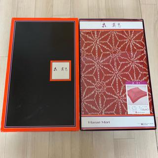 HANAE MORI - 新品 こたつ掛けカバー こたつ布団カバー 麻の葉 正方形  森英恵