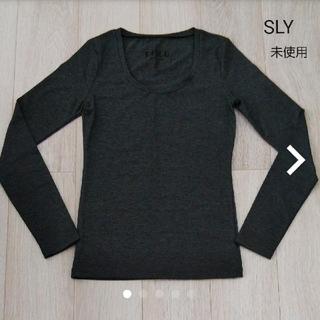 スライ(SLY)の【SLY】未使用 長袖Tシャツ(Tシャツ(長袖/七分))