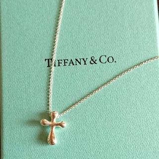 Tiffany & Co. - ティファニー クロスミニネックレス