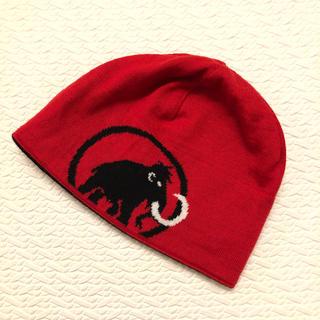 Mammut - [新品] MAMMUT ロゴビーニー(ニット帽)