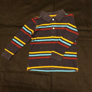 トミーヒルフィガー(TOMMY HILFIGER)のトミーヒルフィガー 長袖ポロシャツ 2T(Tシャツ/カットソー)