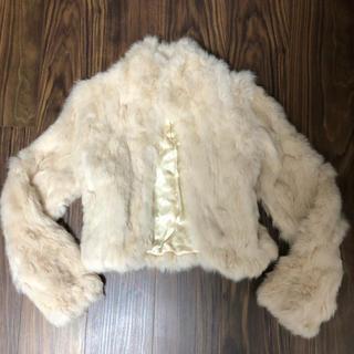 リズリサ(LIZ LISA)のLIZ LISA ファーコート(毛皮/ファーコート)
