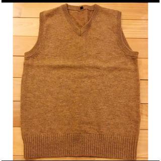 ムジルシリョウヒン(MUJI (無印良品))の無印良品 ニットベスト メンズ XS(ニット/セーター)